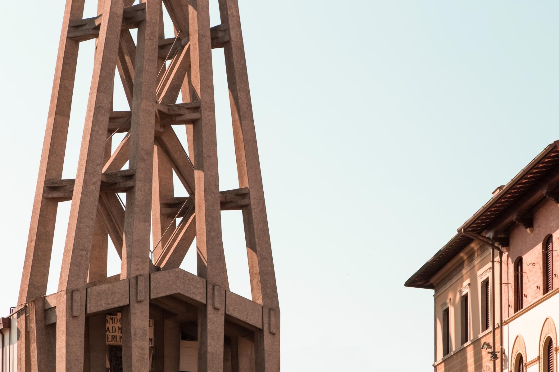 Chiesa Cattolica Parrocchiale del Sacro Cuore - Lando Bartoli e Pier Luigi Nervi