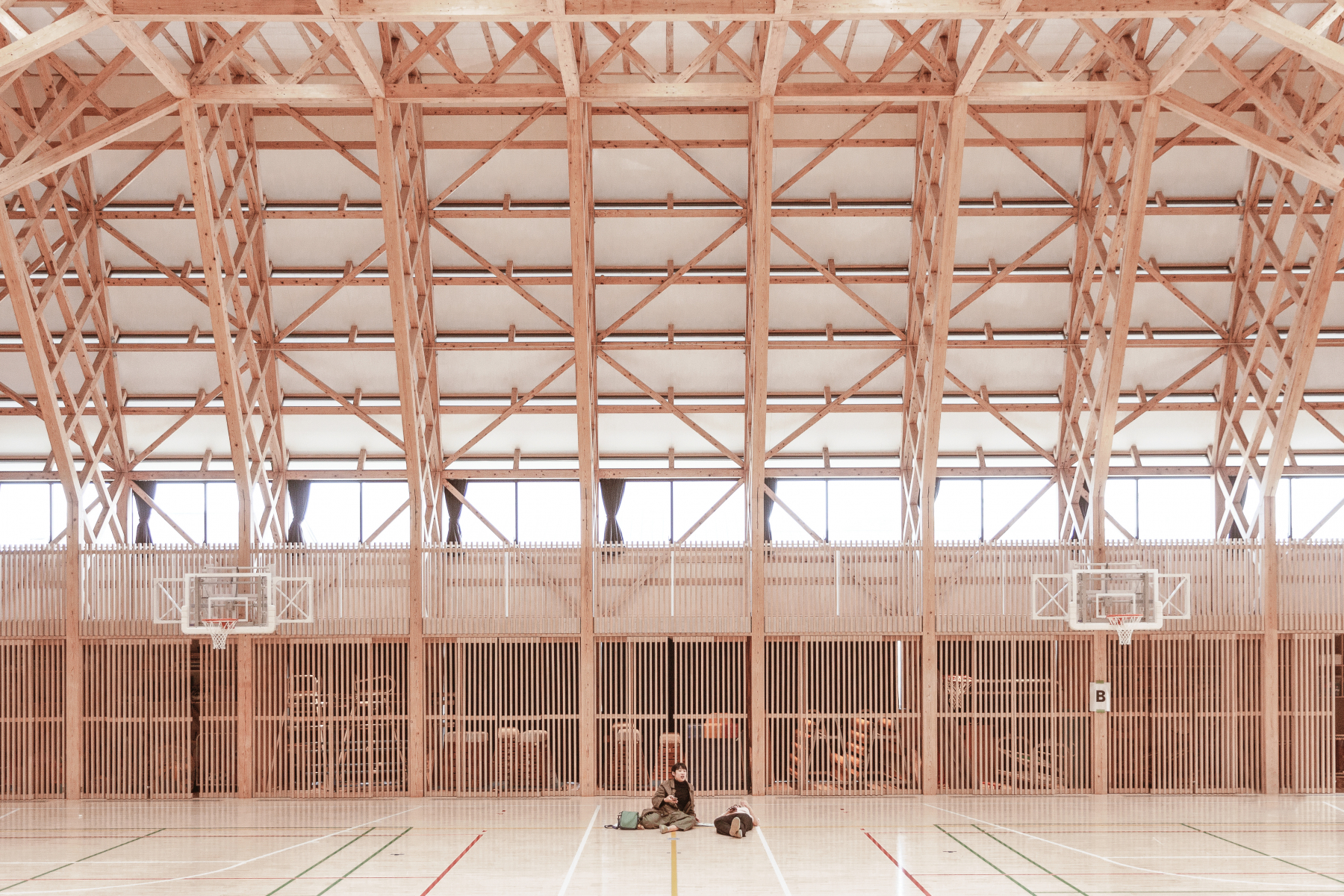 Miyanomori Elementary School, Shozo Kazami. Higashi Matsushima, Miyagi